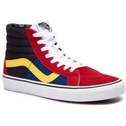 Sneakersy VANS - Sk8-Hi Reissue VN0A4BV8XKR1 (Otw Rally) Chlipepr/Trwht