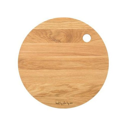 Deski kuchenne, Deska drewniana Healthy Plan by Ann okrągła