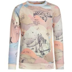 Scotch Shrunk ALLOVER PRINTED CREWNECK WITH 7 LIGHTS OF DAY ARTWORK Bluza multicolor