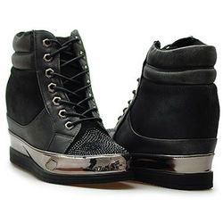 Sneakersy Sergio leone 27209 Czarne