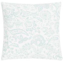 Poduszka Paisley Flower 45x45 - zielony ||kremowy