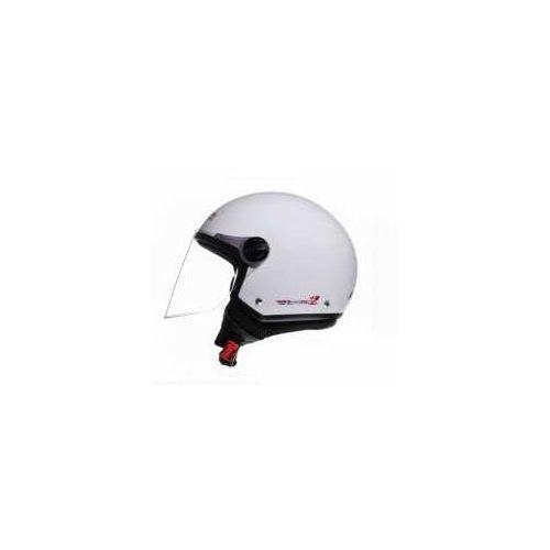 Kaski motocyklowe, KASK LS2 OF560.1 ROCKET II. Biały POŁYSK / White Black