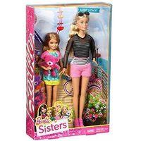 Lalki dla dzieci, Lalka Barbie i Siostra Stacie DGX41 Mattel