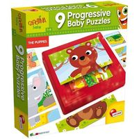 Puzzle, Carotina baby 9 Progressive baby puzzles - Lisciani