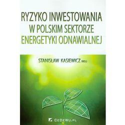 Ryzyko inwestowania w polskim sektorze energetyki odnawialnej - DODATKOWO 10% RABATU i WYSYŁKA 24H! (opr. miękka)