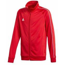 Bluza dla dzieci adidas Core 18 Polyester Jacket JUNIOR Czerwona CV3579