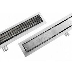 Rea Neo&Pure odpływ liniowy 90 cm z kołnierzem REA-G0094
