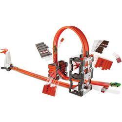 Hot Wheels Track Builder Szalone kraksy Zestaw torów DWW96