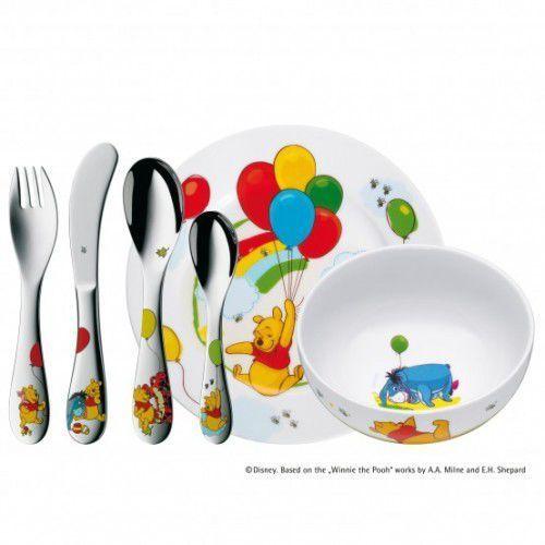 Pozostałe zabawki, WMF - Zestaw dla dzieci 6 el. Kubuś Puchatek