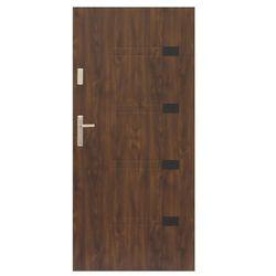 Drzwi zewnętrzne Prado 80 prawe orzech