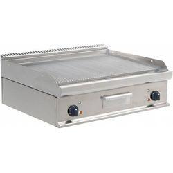 Płyta grillowa elektryczna ryflowana nastawna | 790x530mm | 10800W