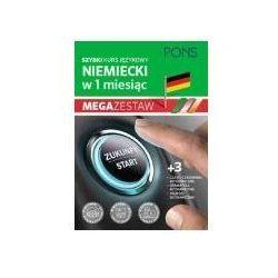 Szybki kurs niemieckiego dla początkujących z nagraniami i trzema tablicami językowymi pons cztery książki w pakiecie (opr. broszurowa)