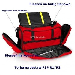 Torba ratownicza PSP R1 z wyposażeniem (SRM 01 PSP)