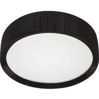 Lampy sufitowe, Plafon lampa sufitowa Alehandro Black 70 5350 Nowodvorski 2x24W okrągła oprawa abażurowa czarna