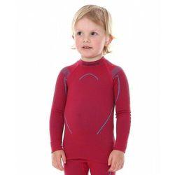 Bluza Termoaktywna Dziewczęca Brubeck Thermo LS13670 Rubinowa
