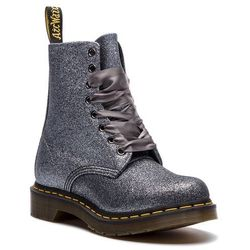Glany DR. MARTENS - 1460 Pascal Glitter 24320041 Pewter