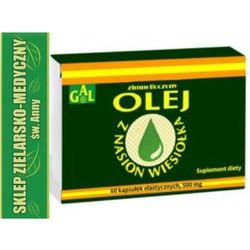 Olej z wiesiołka kapsułki 60szt
