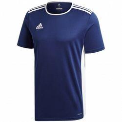 adidas uniseks koszulka dziecięca Entrada 18 Dark Blue/White 152