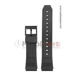 Pasek 204F1D - czarny, silikonowy