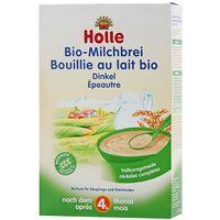 Kaszki i kleiki, HOLLE 250g Kaszka mleczno-orkiszowa BIO dla niemowląt po 4 miesiącu życia