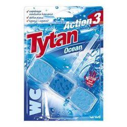 Kostka toaletowa WC Tytan Action 3 Ocean 45g