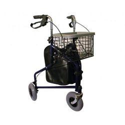 Balkonik trójkołowy z torbą i koszykiem