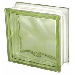 Pustak szklany Seves 1908 barwiony w masie zielony