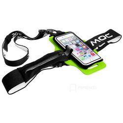 MOC Chest Plate Lime akcesoria / szelki z rzepem do etui na smartfona - Lime