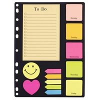 Notesy, Zakładki i notesy zestaw do segregatora A4 D.RECT