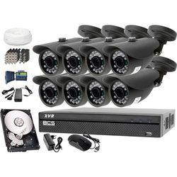 Zestaw do monitoringu: Rejestrator BCS-XVR0801, 8x Kamera LV-AL20HT, 1TB, akcesoria