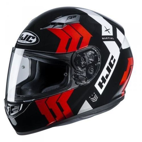 Kaski motocyklowe, Hjc kask integralny cs-15 martial black/red/white