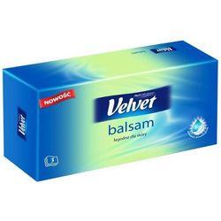 Velvet Chusteczki Uniwersalne Balsam Pudełko 70szt