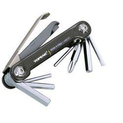 Zestaw narzędzi/kluczy (scyzoryk) Topeak mini 9 PRO CB Carbon Fiber 9 w 1