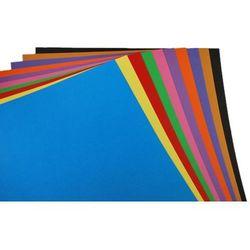 Brystol karton kolor A2 MIX 10 kolorów 50ark 250g