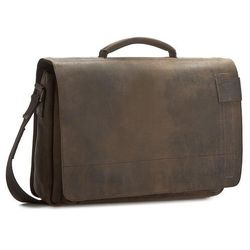 Torba na laptopa STRELLSON - Richmond 4010001261 Dark Brown 702