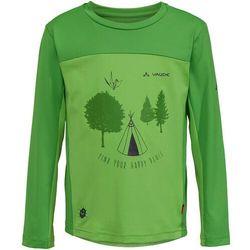 VAUDE Solaro T-shirt z długim rękawem Dzieci, apple 104 2020 Koszulki z długim rękawem