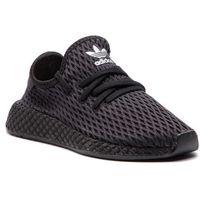 Buty sportowe dla dzieci, Buty adidas - Deerupt Runner C CM8663 Cblack/Cblack/Ftwwht