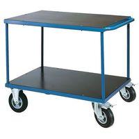 Wózki widłowe i paletowe, Wózek warsztatowy, z hamulcami, 350 kg, 1000x600x840 mm