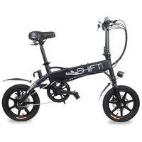 Rowery elektryczne, E-City rider Shift Black