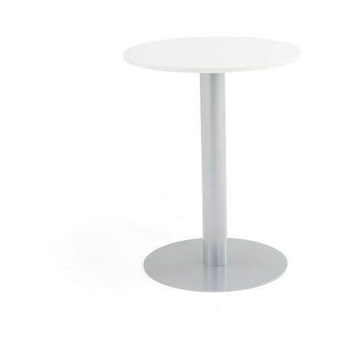 Meble do restauracji i kawiarni, Stół na filarze, Ø700x900 mm, biały
