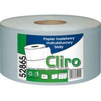 Papier toaletowy, PAPIER TOALETOWY BIAŁY (65%) JUMBO 2W 135m 12rolek