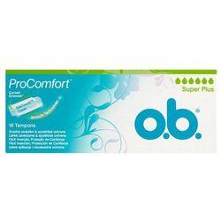 O.B.ProComfort Super Plus komfortowe tampony 1 op.-16szt - Johnson OD 24,99zł DARMOWA DOSTAWA KIOSK RUCHU