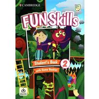 Książki do nauki języka, Fun Skills 2 Students Book with Home Booklet and Downloadable Audio - Watkin Montse, Medwell Claire - książka