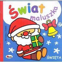 Książki dla dzieci, ŚWIAT MALUSZKA ŚWIĘTA - Piotr Kozera (opr. kartonowa)