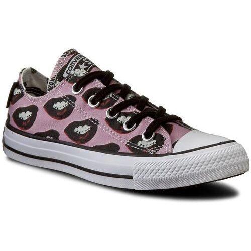 Damskie obuwie sportowe, Trampki CONVERSE - Ctas Ox 153843C White/Black/Multi Pink