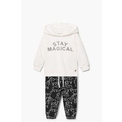 Mango Kids - Komplet dziecięcy Lola (bluza + spodnie) 80-104 cm