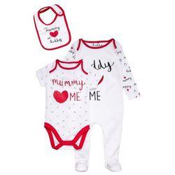 mothercare UNISEX MUMMY AND DADDY BABY SET Body black/white