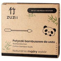 Patyczki kosmetyczne z bambusa i bawełny (dwie różne końcówki)