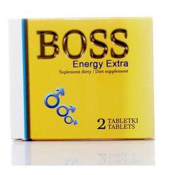 Boss Energy Extra ŻÓŁTY 2 tabl. Silna erekcja na zawołanie 500002