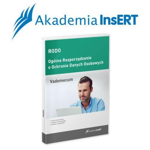 Programy kadrowe i finansowe, Akademia InsERT: RODO - vademecum
